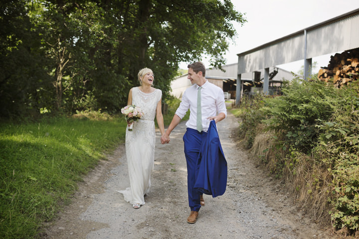 34 Homemade Wedding With a Jenny Packham Dress By Mark Tattersall