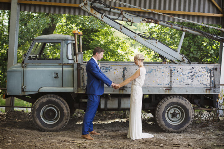 4 Homemade Wedding With a Jenny Packham Dress By Mark Tattersall
