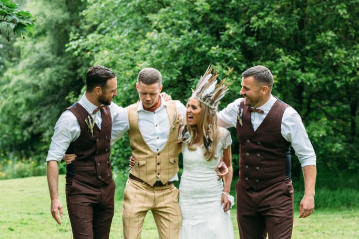 4 Whimsical, Rustic, Bohomian Wedding By DSB Creative