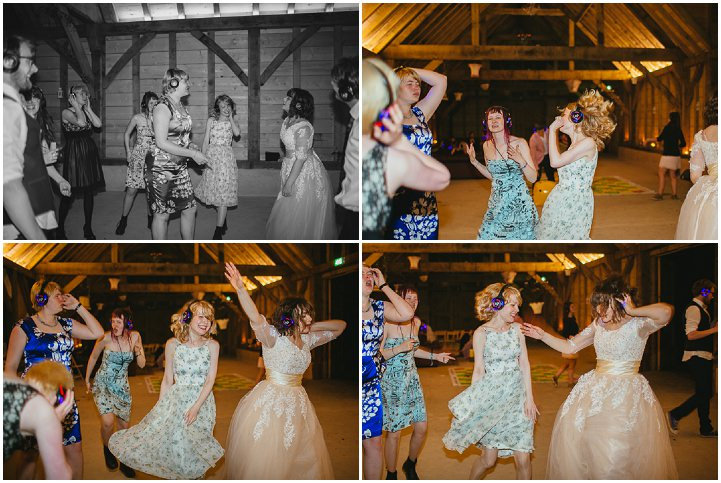 52 Silent Disco Wedding By Liz Wan