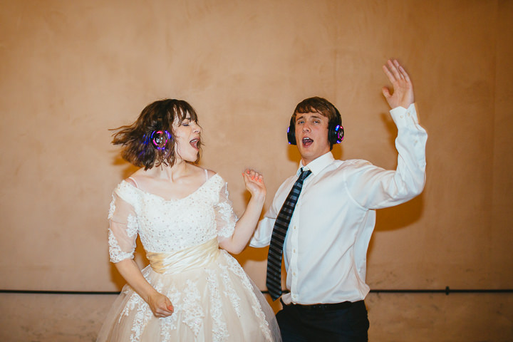 53 Silent Disco Wedding By Liz Wan