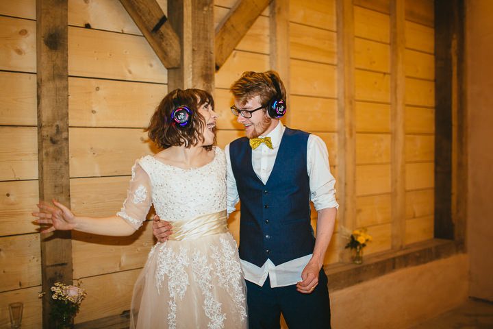 54 Silent Disco Wedding By Liz Wan