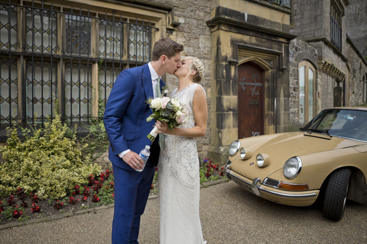 9 Homemade Wedding With a Jenny Packham Dress By Mark Tattersall