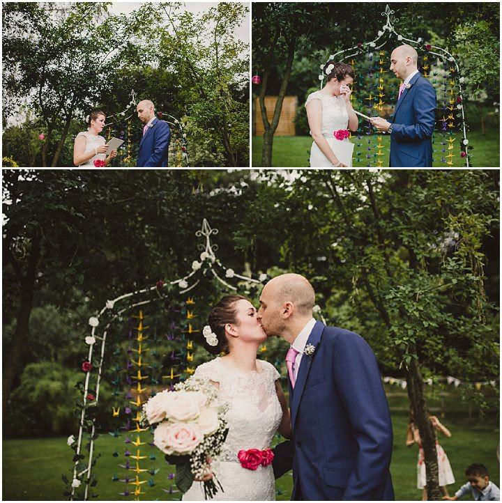 13 Tipi Garden Wedding By Lola Rose Photography