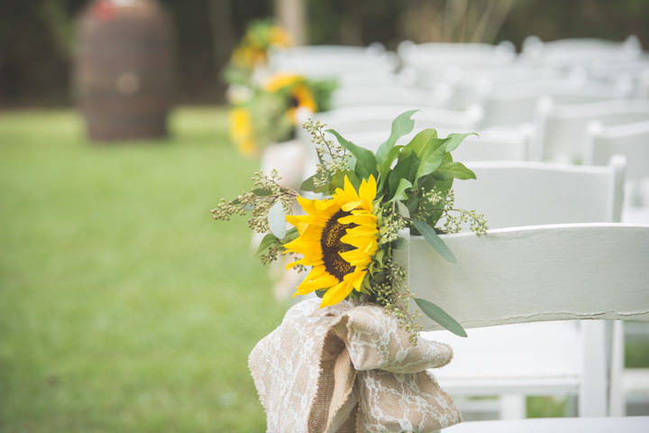 15 Sunflower Filled Rustic Barn Wedding. By Will Greene