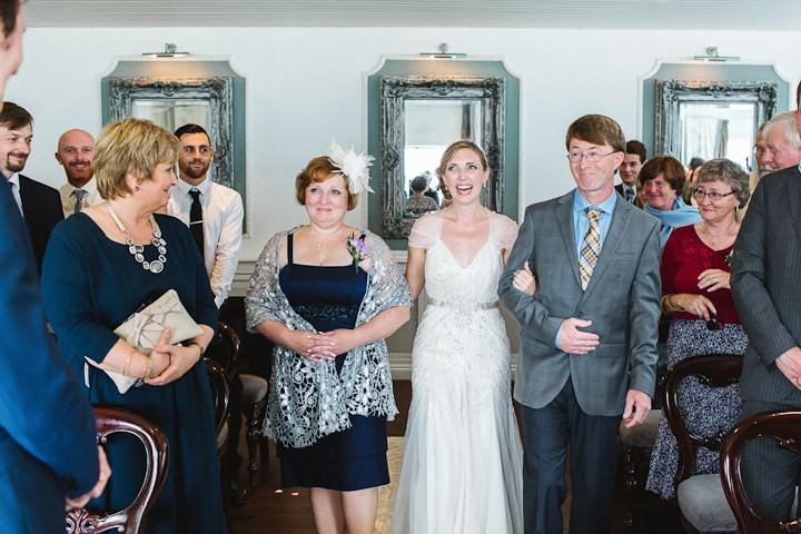 16 Cornish Beach Side Wedding By Debs Ivelja