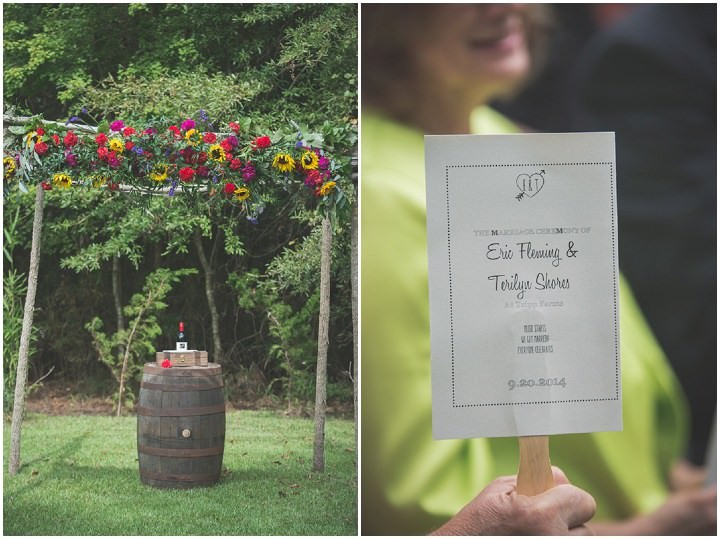 16 Sunflower Filled Rustic Barn Wedding. By Will Greene