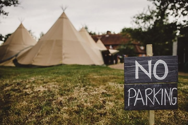 19 Tipi Garden Wedding By Lola Rose Photography