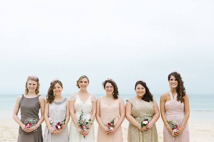 2 Cornish Beach Side Wedding By Debs Ivelja