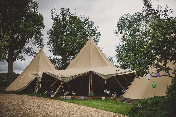 20 Tipi Garden Wedding By Lola Rose Photography