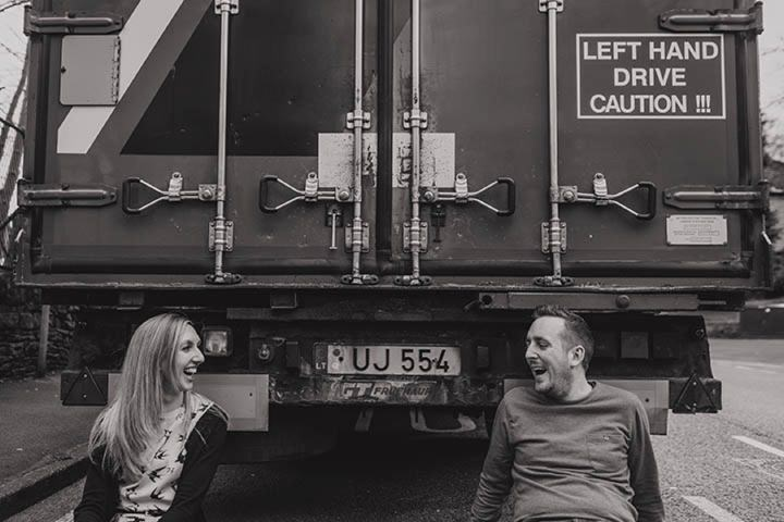 Urban Engagement Shoot by Paul Joseph Photography in Meltham Yorkshire