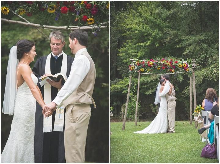 22 Sunflower Filled Rustic Barn Wedding. By Will Greene