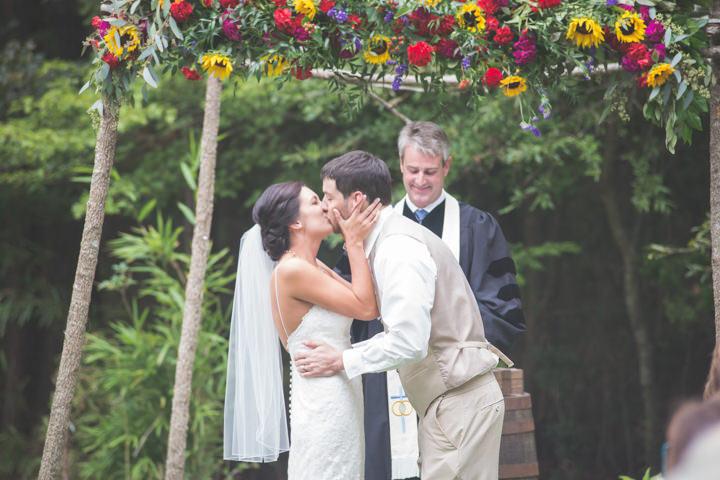 23 Sunflower Filled Rustic Barn Wedding. By Will Greene