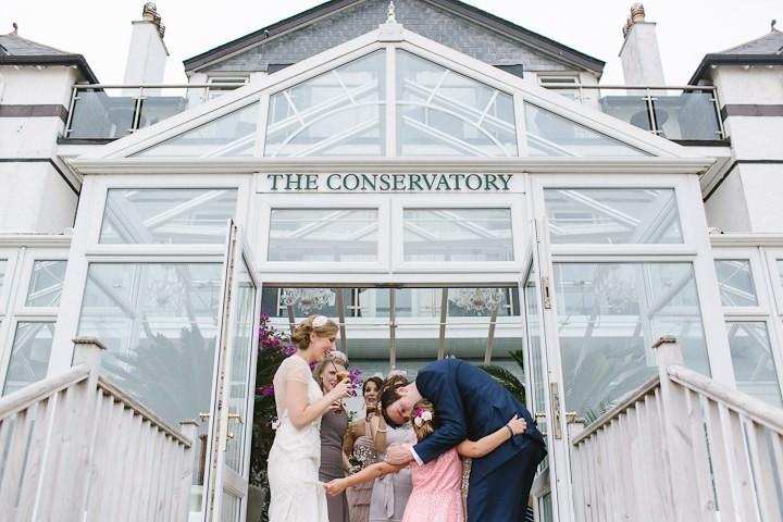 24 Cornish Beach Side Wedding By Debs Ivelja