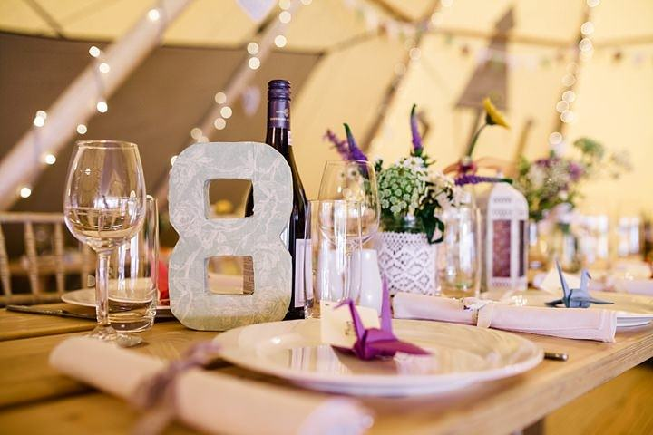 3 Tipi Garden Wedding By Lola Rose Photography
