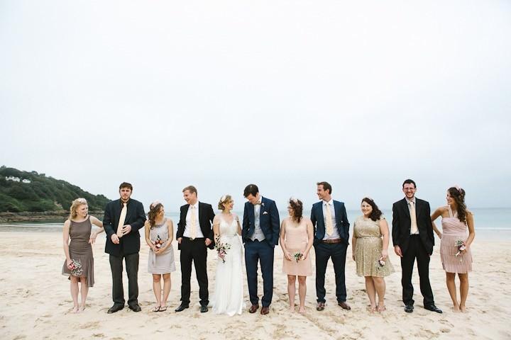31 Cornish Beach Side Wedding By Debs Ivelja