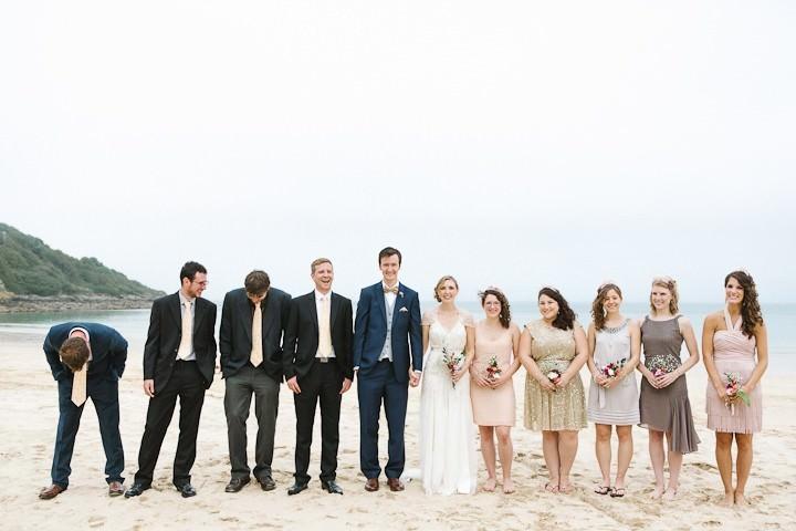 32 Cornish Beach Side Wedding By Debs Ivelja