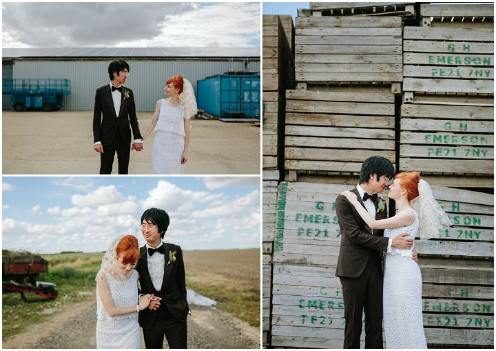 32  Wedding With Homemade Dress By James and Lianne