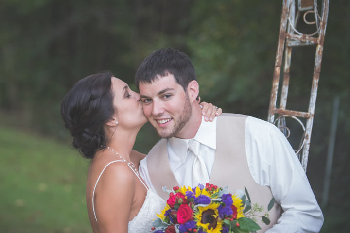 33 Sunflower Filled Rustic Barn Wedding. By Will Greene