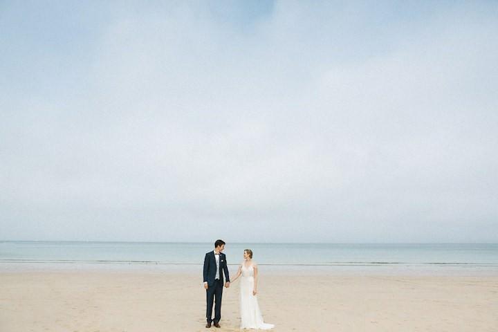 34 Cornish Beach Side Wedding By Debs Ivelja