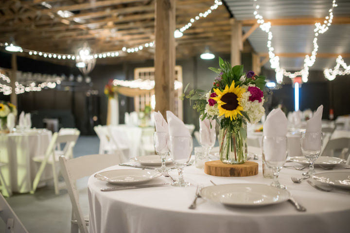 35 Sunflower Filled Rustic Barn Wedding. By Will Greene
