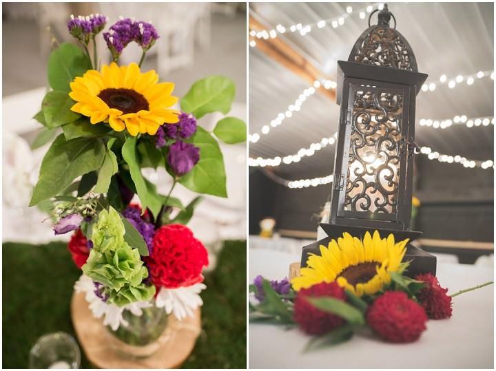 36 Sunflower Filled Rustic Barn Wedding. By Will Greene