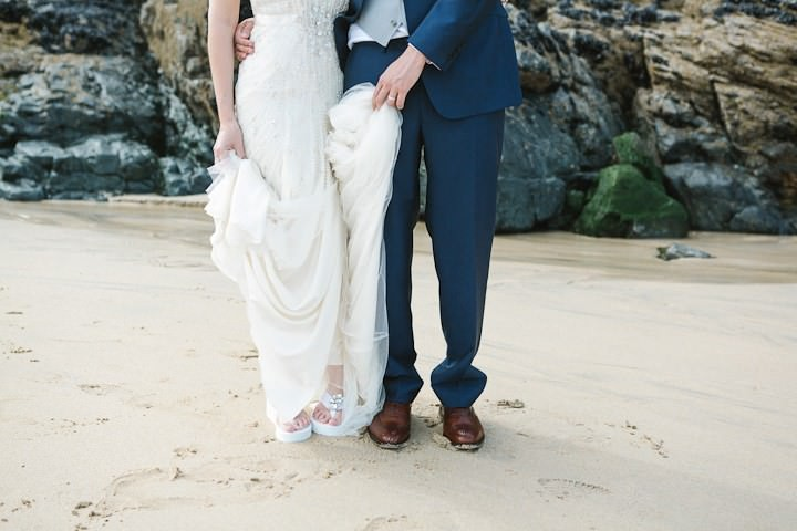 37 Cornish Beach Side Wedding By Debs Ivelja