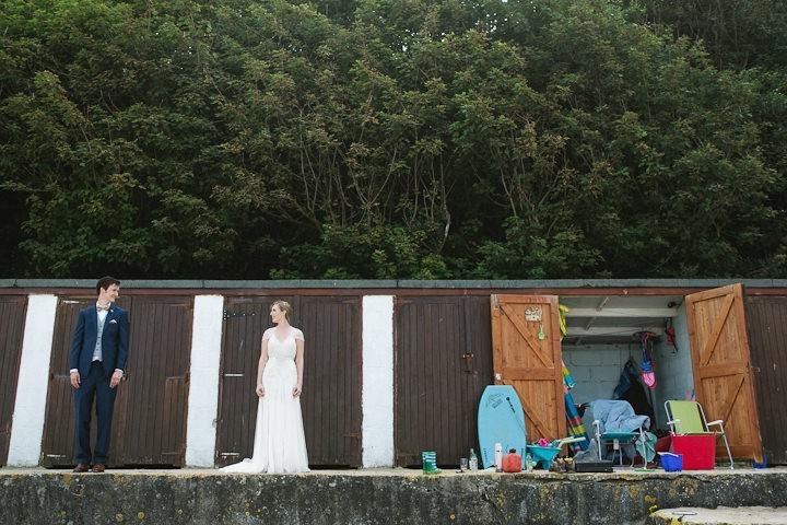 38 Cornish Beach Side Wedding By Debs Ivelja