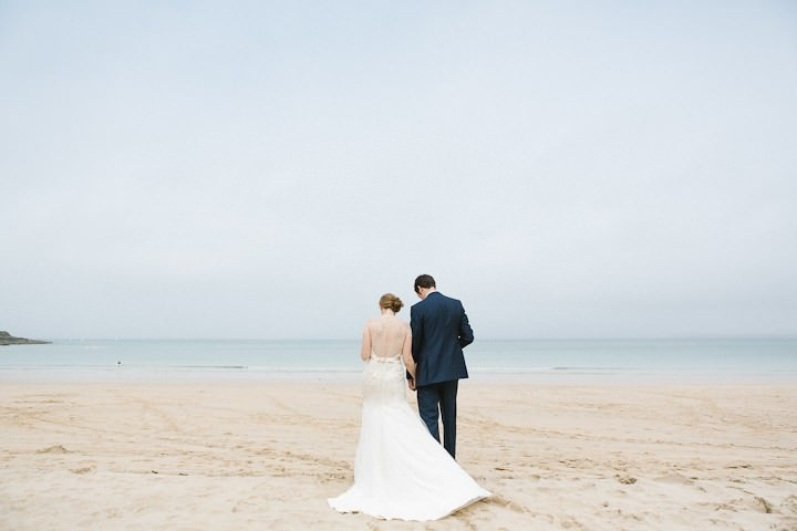39 Cornish Beach Side Wedding By Debs Ivelja