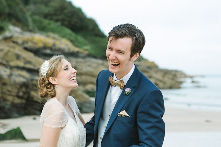 4 Cornish Beach Side Wedding By Debs Ivelja