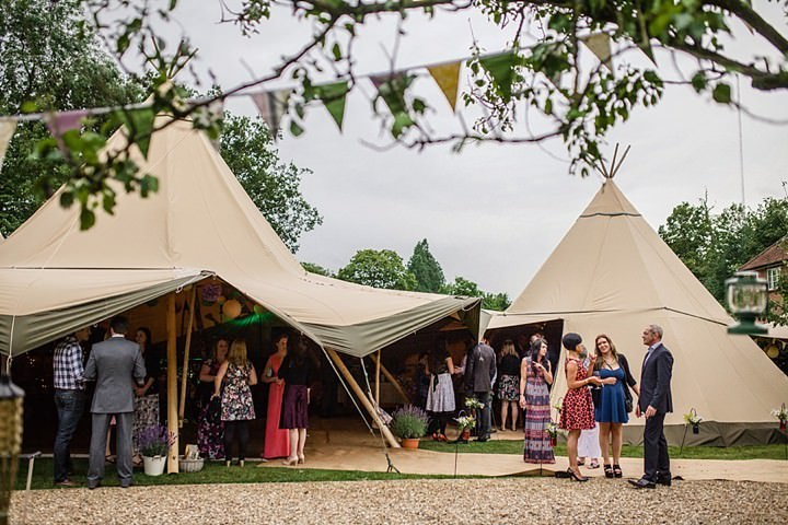 4 Tipi Garden Wedding By Lola Rose Photography