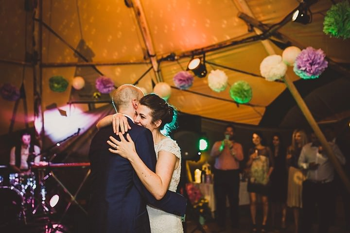 43 Tipi Garden Wedding By Lola Rose Photography
