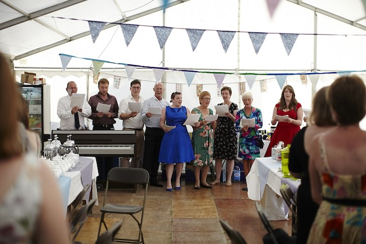 44 Village Fete Wedding By Benjamin The Photographer