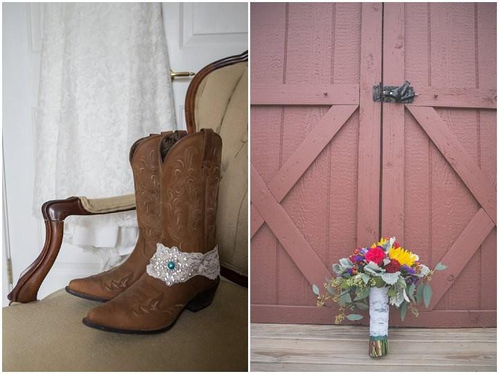 7 Sunflower Filled Rustic Barn Wedding. By Will Greene