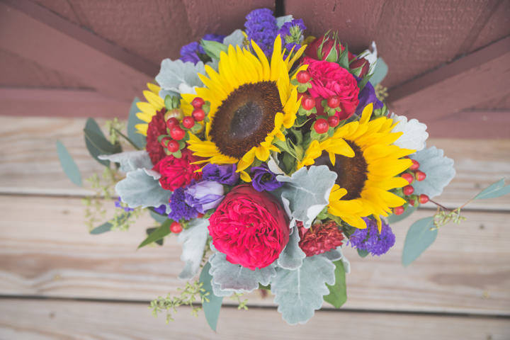 8 Sunflower Filled Rustic Barn Wedding. By Will Greene