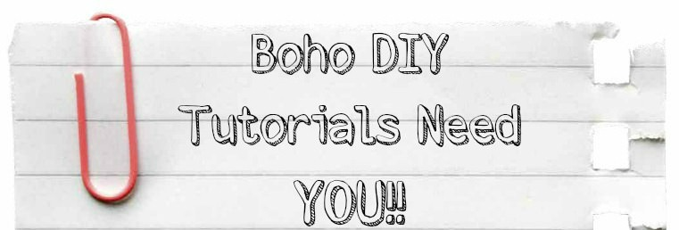 DIY Tutorials need you