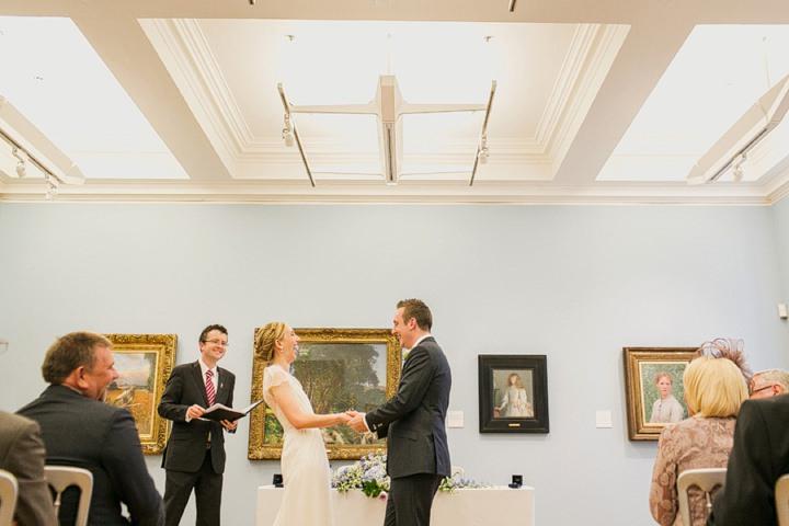 Rachel Chris S Fun And Quirky Manchester Art Gallery Wedding