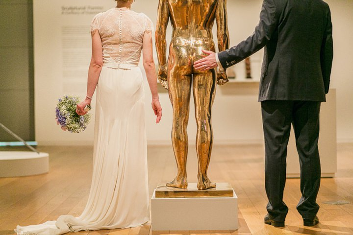 Rachel + Chris's fun and quirky Manchester Art Gallery Wedding.