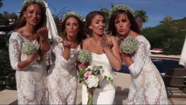 Film Club: Sarah and Davids Beautiful Ibiza Villa Wedding By Infin8 Images