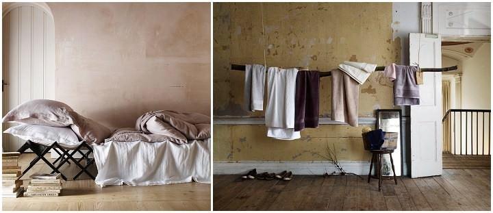 Soak & Sleep - perfect 'undone' bedroom look!