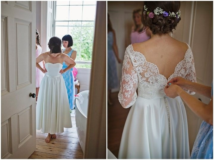 10 Yorkshire Wedding with Handmade Touches By Mark Tattersall