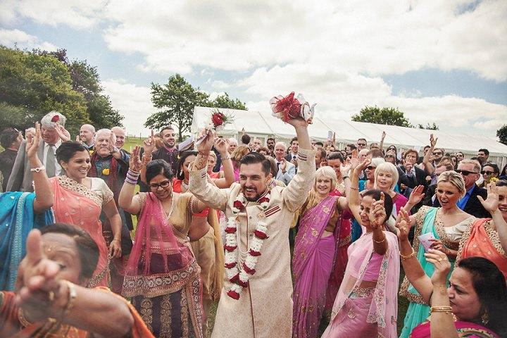 15 Bollywood Beach and Flamingos Wedding By Matt Parry Photography