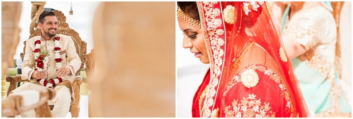 17 Bollywood Beach and Flamingos Wedding By Matt Parry Photography