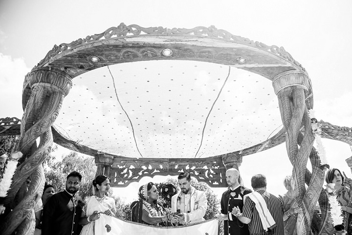 18 Bollywood Beach and Flamingos Wedding By Matt Parry Photography