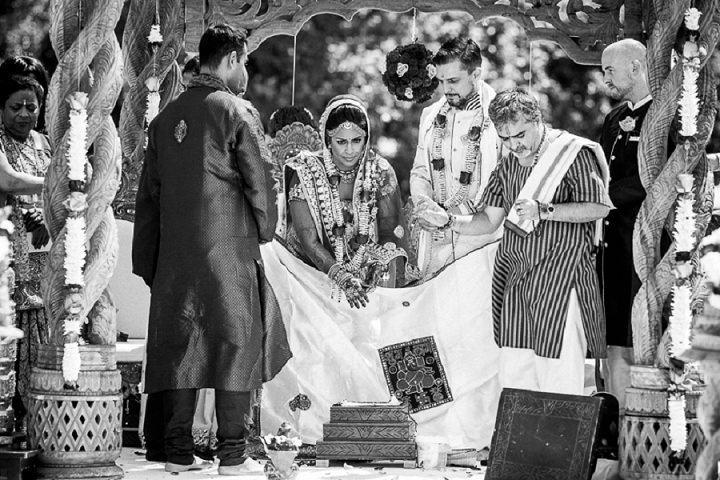 19 Bollywood Beach and Flamingos Wedding By Matt Parry Photography