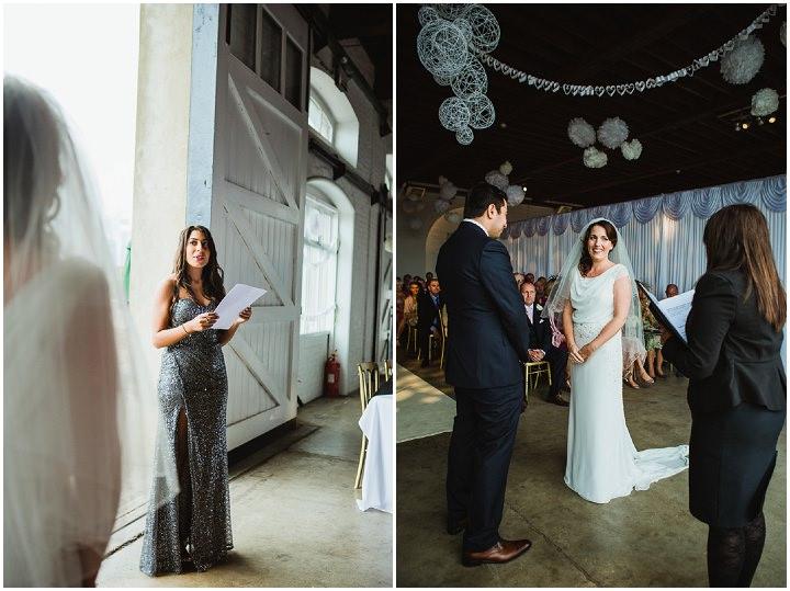 19 London Warehouse Wedding. By Amy B Photography