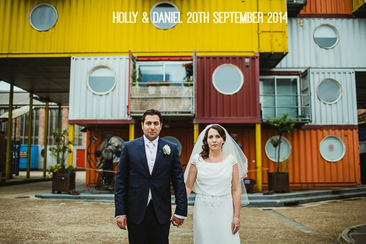1a London Warehouse Wedding. By Amy B Photography
