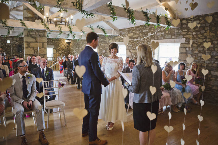 20 Yorkshire Wedding with Handmade Touches By Mark Tattersall