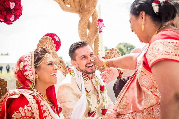 21 Bollywood Beach and Flamingos Wedding By Matt Parry Photography
