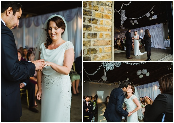 21 London Warehouse Wedding. By Amy B Photography